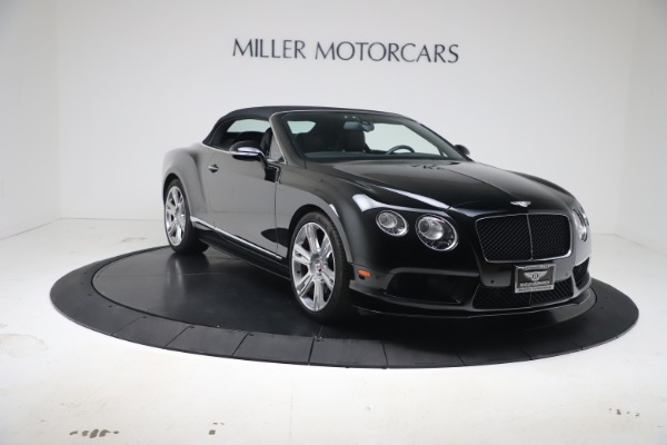 Used 2014 Bentley Continental GT Convertible V8 S for sale $109,900 at Bugatti of Greenwich in Greenwich CT 06830 19