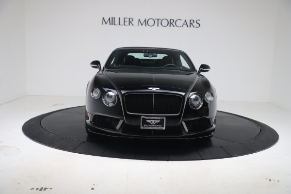 Used 2014 Bentley Continental GTC V8 S for sale $109,900 at Bugatti of Greenwich in Greenwich CT 06830 20