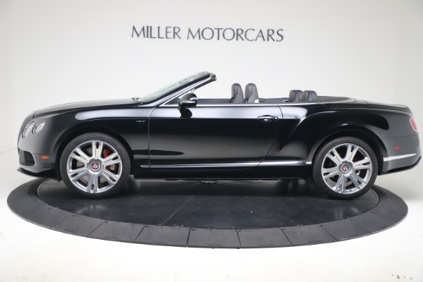 Used 2014 Bentley Continental GT Convertible V8 S for sale $109,900 at Bugatti of Greenwich in Greenwich CT 06830 3
