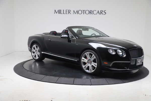 Used 2014 Bentley Continental GT Convertible V8 S for sale $109,900 at Bugatti of Greenwich in Greenwich CT 06830 9