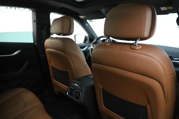 Used 2017 Maserati Levante Q4 for sale $51,900 at Bugatti of Greenwich in Greenwich CT 06830 26