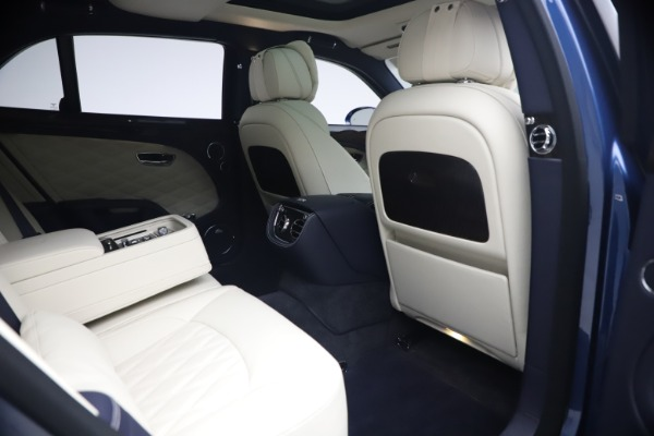 Used 2020 Bentley Mulsanne Speed for sale $279,900 at Bugatti of Greenwich in Greenwich CT 06830 27