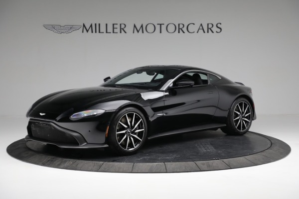 Used 2019 Aston Martin Vantage Coupe for sale $129,900 at Bugatti of Greenwich in Greenwich CT 06830 1