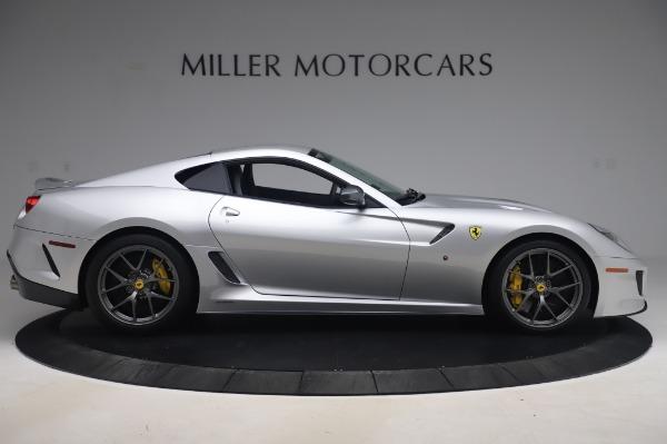 Used 2011 Ferrari 599 GTO for sale Sold at Bugatti of Greenwich in Greenwich CT 06830 9