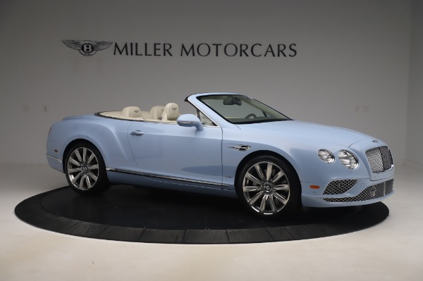 Used 2017 Bentley Continental GT Convertible W12 for sale $169,900 at Bugatti of Greenwich in Greenwich CT 06830 11