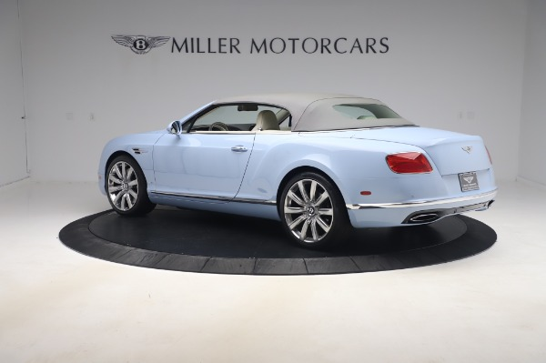 Used 2017 Bentley Continental GT Convertible W12 for sale $169,900 at Bugatti of Greenwich in Greenwich CT 06830 18