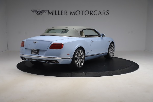 Used 2017 Bentley Continental GT Convertible W12 for sale $169,900 at Bugatti of Greenwich in Greenwich CT 06830 20