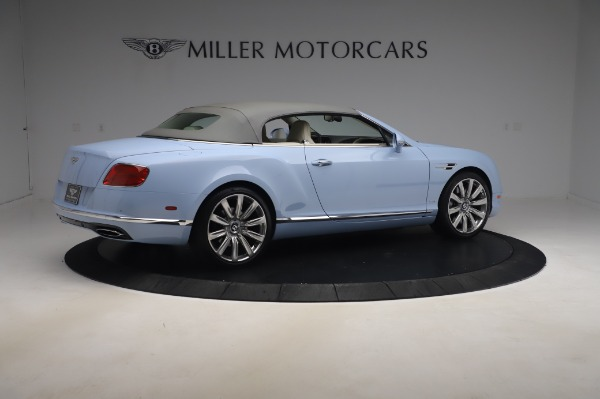 Used 2017 Bentley Continental GT Convertible W12 for sale $169,900 at Bugatti of Greenwich in Greenwich CT 06830 21