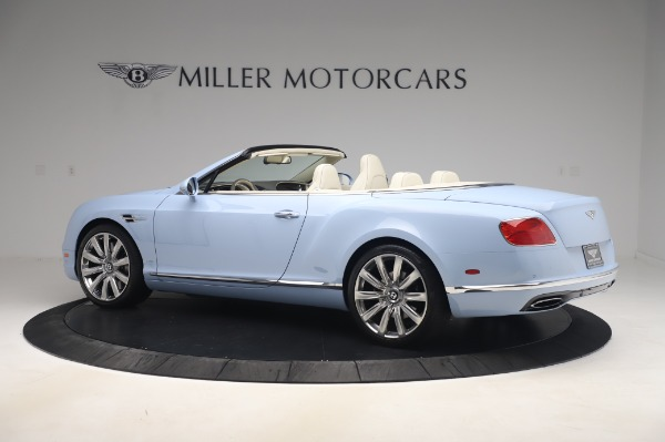 Used 2017 Bentley Continental GT Convertible W12 for sale $169,900 at Bugatti of Greenwich in Greenwich CT 06830 4
