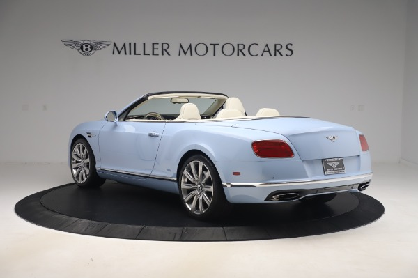 Used 2017 Bentley Continental GT Convertible W12 for sale $169,900 at Bugatti of Greenwich in Greenwich CT 06830 5