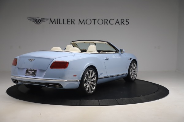 Used 2017 Bentley Continental GT Convertible W12 for sale $169,900 at Bugatti of Greenwich in Greenwich CT 06830 8