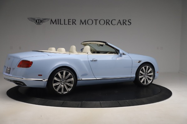 Used 2017 Bentley Continental GT Convertible W12 for sale $169,900 at Bugatti of Greenwich in Greenwich CT 06830 9