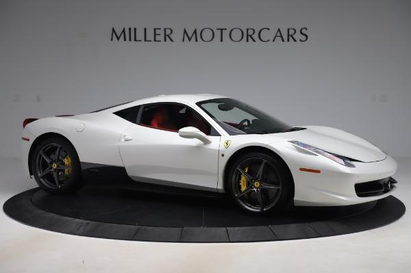 Used 2013 Ferrari 458 Italia for sale $229,900 at Bugatti of Greenwich in Greenwich CT 06830 10