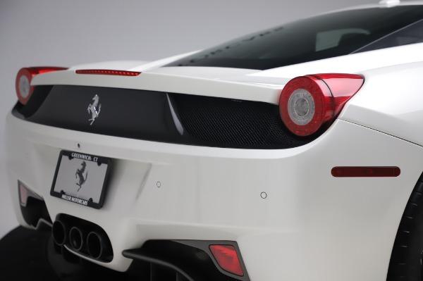 Used 2013 Ferrari 458 Italia for sale $229,900 at Bugatti of Greenwich in Greenwich CT 06830 27