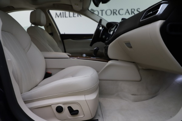 Used 2017 Maserati Ghibli S Q4 for sale $48,900 at Bugatti of Greenwich in Greenwich CT 06830 23