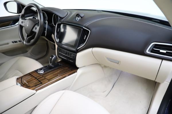 Used 2017 Maserati Ghibli S Q4 for sale $48,900 at Bugatti of Greenwich in Greenwich CT 06830 24