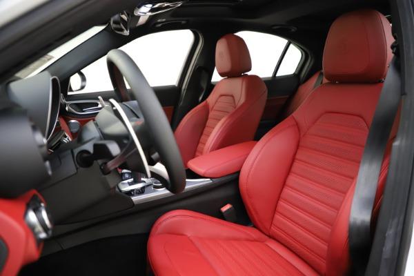 New 2020 Alfa Romeo Giulia Ti Sport Q4 for sale $51,495 at Bugatti of Greenwich in Greenwich CT 06830 15