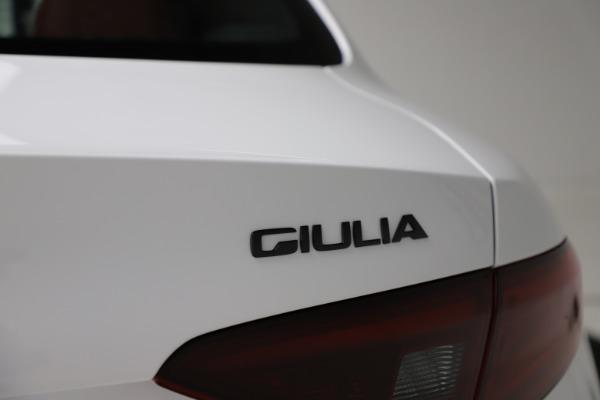 New 2020 Alfa Romeo Giulia Ti Sport Q4 for sale $51,495 at Bugatti of Greenwich in Greenwich CT 06830 27