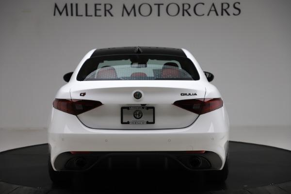 New 2020 Alfa Romeo Giulia Ti Sport Q4 for sale $51,495 at Bugatti of Greenwich in Greenwich CT 06830 6