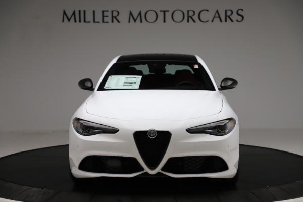 New 2020 Alfa Romeo Giulia Ti Sport Q4 for sale $52,395 at Bugatti of Greenwich in Greenwich CT 06830 12