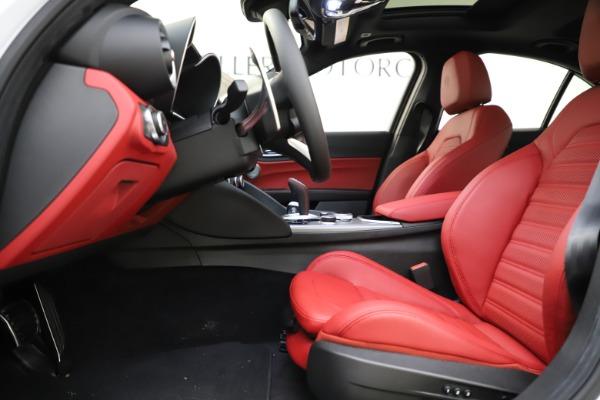 New 2020 Alfa Romeo Giulia Ti Sport Q4 for sale $52,395 at Bugatti of Greenwich in Greenwich CT 06830 14