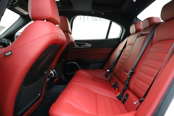 New 2020 Alfa Romeo Giulia Ti Sport Q4 for sale $52,395 at Bugatti of Greenwich in Greenwich CT 06830 19