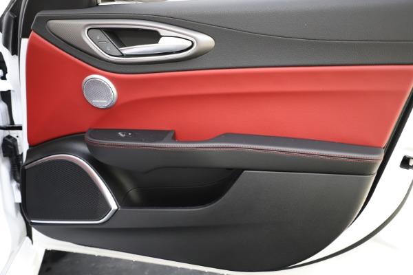 New 2020 Alfa Romeo Giulia Ti Sport Q4 for sale $52,395 at Bugatti of Greenwich in Greenwich CT 06830 24