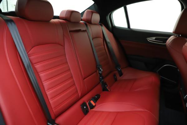 New 2020 Alfa Romeo Giulia Ti Sport Q4 for sale $52,395 at Bugatti of Greenwich in Greenwich CT 06830 25