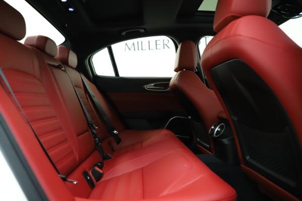 New 2020 Alfa Romeo Giulia Ti Sport Q4 for sale $52,395 at Bugatti of Greenwich in Greenwich CT 06830 26
