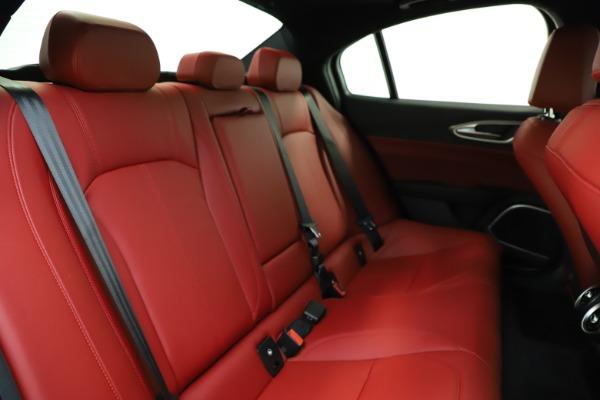 New 2020 Alfa Romeo Giulia Sport Q4 for sale Sold at Bugatti of Greenwich in Greenwich CT 06830 24