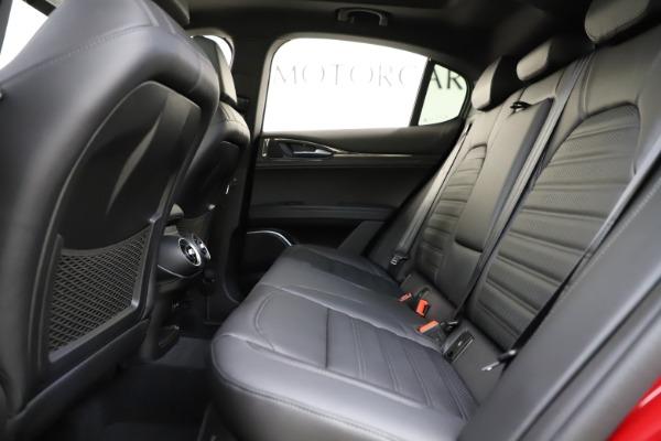 New 2020 Alfa Romeo Stelvio Ti Sport Carbon Q4 for sale Sold at Bugatti of Greenwich in Greenwich CT 06830 19