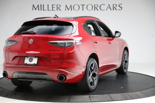 New 2020 Alfa Romeo Stelvio Ti Sport Carbon Q4 for sale Sold at Bugatti of Greenwich in Greenwich CT 06830 7