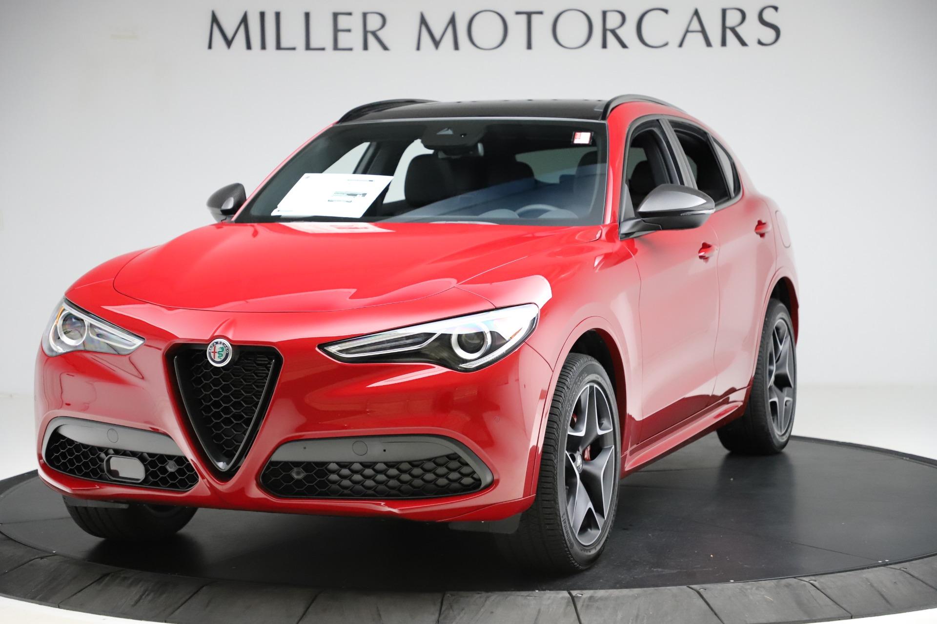 New 2020 Alfa Romeo Stelvio Ti Sport Carbon Q4 for sale Sold at Bugatti of Greenwich in Greenwich CT 06830 1