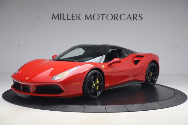 Used 2018 Ferrari 488 Spider for sale $286,900 at Bugatti of Greenwich in Greenwich CT 06830 12