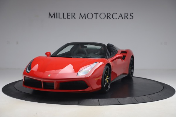 Used 2018 Ferrari 488 Spider for sale $286,900 at Bugatti of Greenwich in Greenwich CT 06830 1