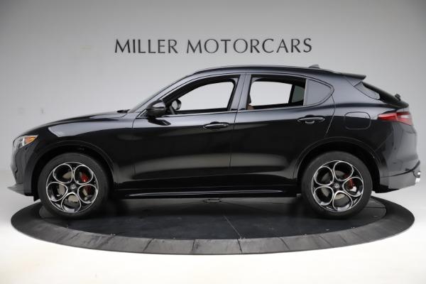 New 2020 Alfa Romeo Stelvio Ti Sport Q4 for sale Sold at Bugatti of Greenwich in Greenwich CT 06830 3