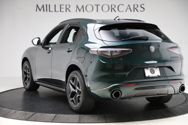 New 2020 Alfa Romeo Stelvio Ti Sport Carbon Q4 for sale Sold at Bugatti of Greenwich in Greenwich CT 06830 5