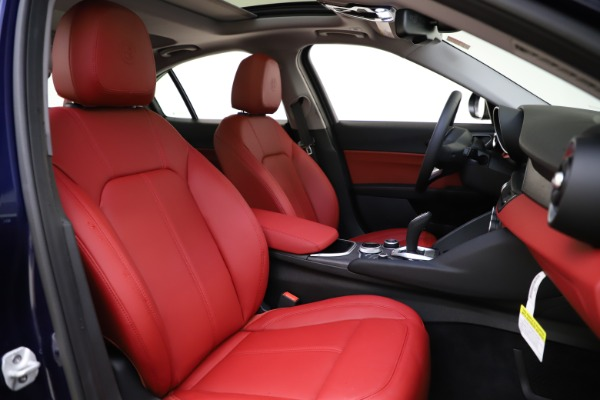 New 2020 Alfa Romeo Giulia Ti Q4 for sale $47,795 at Bugatti of Greenwich in Greenwich CT 06830 21