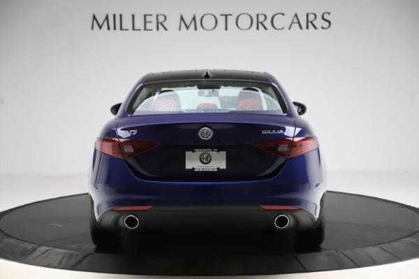 New 2020 Alfa Romeo Giulia Ti Q4 for sale $47,795 at Bugatti of Greenwich in Greenwich CT 06830 6