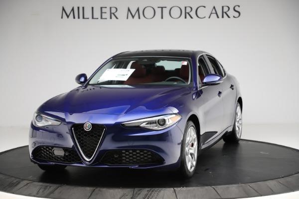 New 2020 Alfa Romeo Giulia Ti Q4 for sale $47,795 at Bugatti of Greenwich in Greenwich CT 06830 1