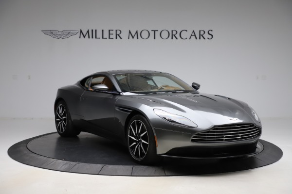 Used 2017 Aston Martin DB11 for sale $155,900 at Bugatti of Greenwich in Greenwich CT 06830 10