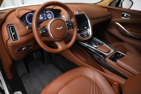 New 2021 Aston Martin DBX for sale $211,636 at Bugatti of Greenwich in Greenwich CT 06830 13
