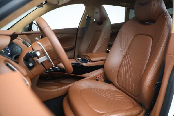New 2021 Aston Martin DBX for sale $211,636 at Bugatti of Greenwich in Greenwich CT 06830 15