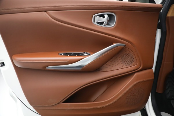 New 2021 Aston Martin DBX for sale $211,636 at Bugatti of Greenwich in Greenwich CT 06830 16