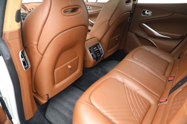 New 2021 Aston Martin DBX for sale $211,636 at Bugatti of Greenwich in Greenwich CT 06830 17