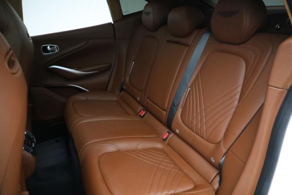 New 2021 Aston Martin DBX for sale $211,636 at Bugatti of Greenwich in Greenwich CT 06830 18