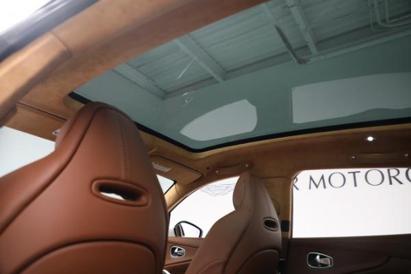 New 2021 Aston Martin DBX for sale $211,636 at Bugatti of Greenwich in Greenwich CT 06830 19