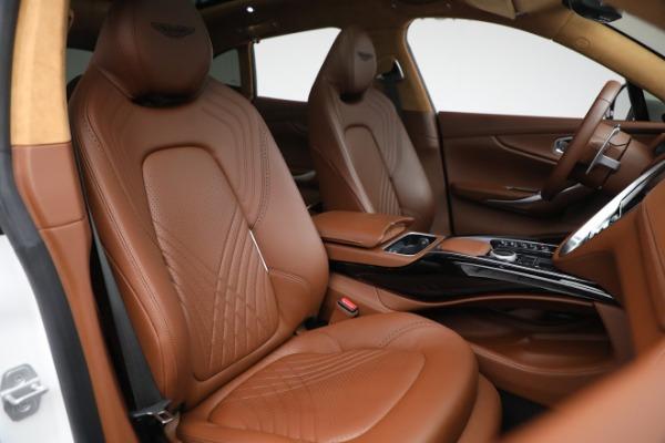 New 2021 Aston Martin DBX for sale $211,636 at Bugatti of Greenwich in Greenwich CT 06830 21