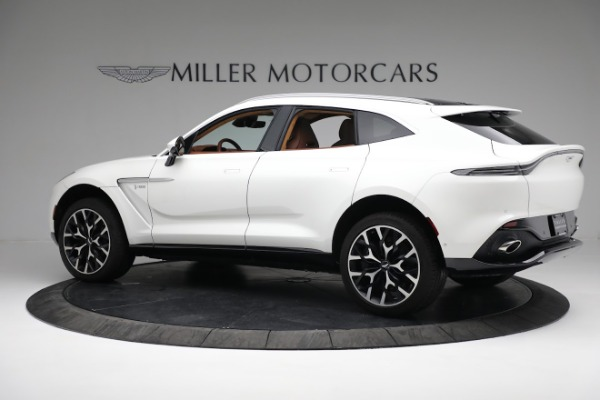 New 2021 Aston Martin DBX for sale $211,636 at Bugatti of Greenwich in Greenwich CT 06830 3
