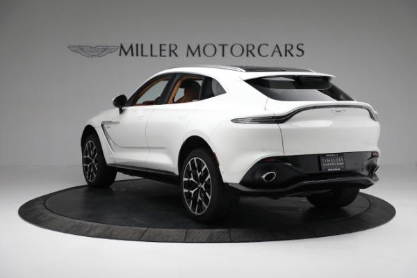New 2021 Aston Martin DBX for sale $211,636 at Bugatti of Greenwich in Greenwich CT 06830 4
